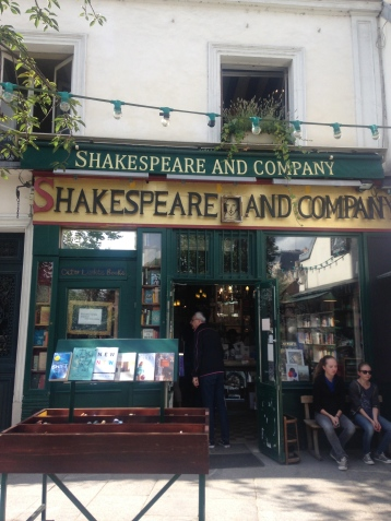 Shakespeare And Company on the Left Bank
